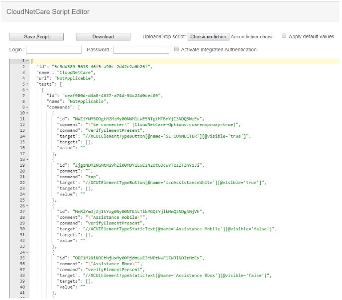 Cloudnetcare-script-editor