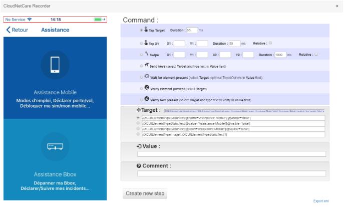 Cloudnetcare-recorder-script